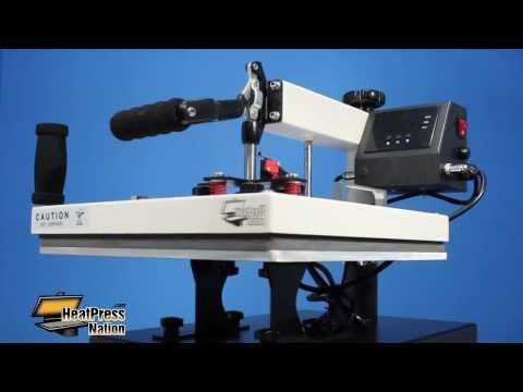 HPN Signature Series Swing Away Heat Press- HeatPressNation.com
