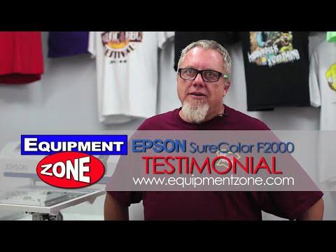 Epson F2000 DTG Testimonial: Be Seen Wear - Valley Center, CA