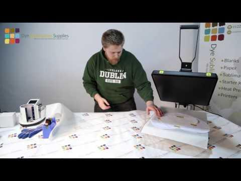 How To: Sublimate A Heart-Shaped Cushion Cover