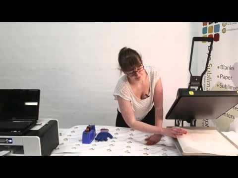 How To Sublimate A Sublimation Pot Holder - Dye Sublimation Supplies