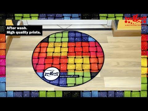 Carpet & Doormat Printing - Dye Sublimation