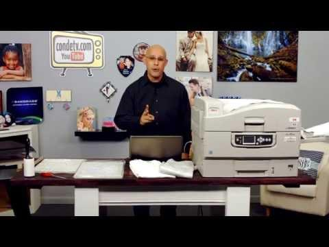 Using TechniPrint EZP Transfer Paper -