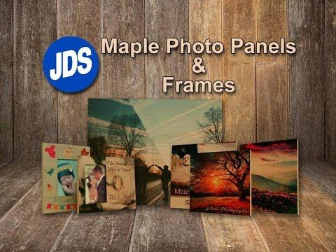 How To Sublimate Maple Photo Panels & Frames