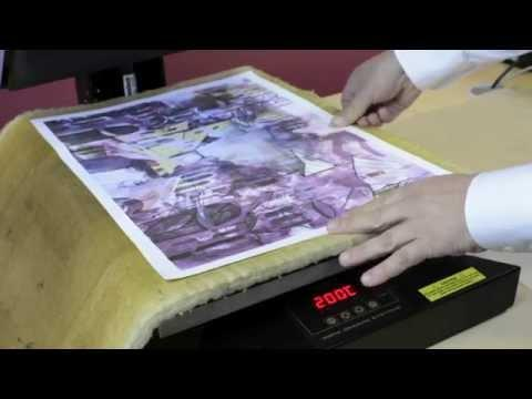 How To Sublimate Ceramic Tile Murals In A Standard Flat Heat Press