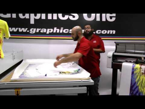 Graphics One All-Over Dye Sublimation Webinar - 04/22/2015