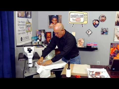 Working With Conde LaserFlex CL Transfer Paper For Color Laser -