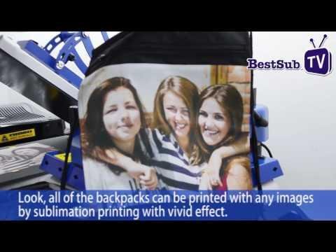 How To Sublimate Backpacks