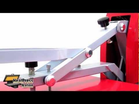 HPN 16x20 Red Heat Press - HeatPressNation.com