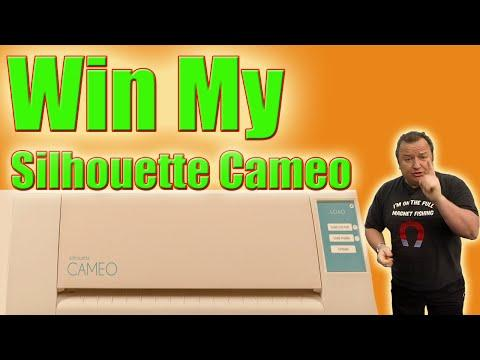 Win My Silhouette Cameo  And Unboxing My Version 2 Cameo