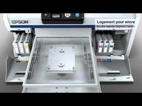 Epson SureColor SC-F2000 Impression Directe Textile