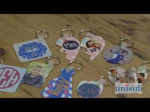 How-to Sublimate Unisub Key Chains