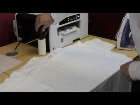 How To Transfer Cotton Apparel/Clothing With A Hand Iron