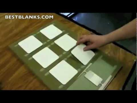 How To Make Coasters Using A Unisub Production Jig