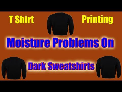 How Moisture Can Affect Dark T Shirt Transfers On Hoodies And Sweatshirts