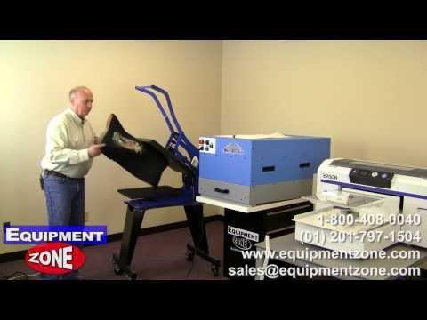 Printing With The Epson F2000 And SpeedTreater TX