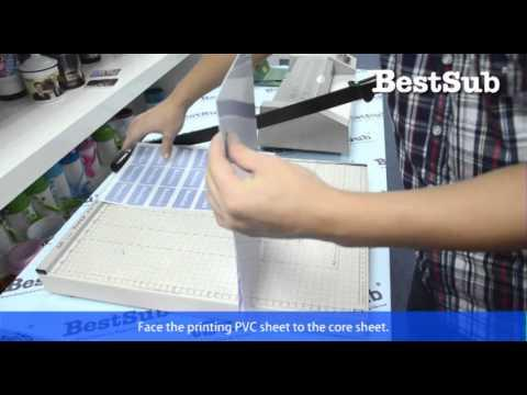 How To Make Pvc Cards