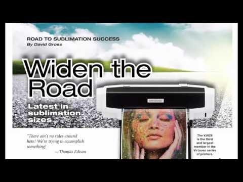 Sublimation Webinar: Sawgrass Virtuoso Printer VJ 628 With David Gross/Jimmy Lamb