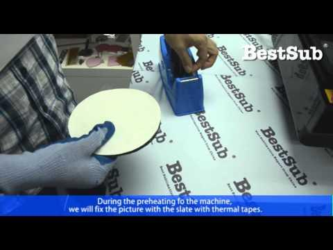 How To Sublimate Photo Slates From BestSub