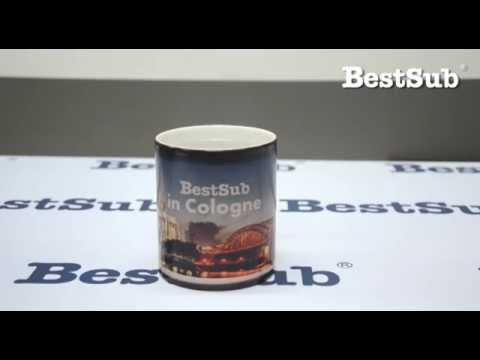 How To Sublimate Changing Color Mugs From Bestsub