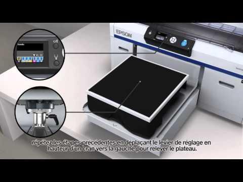 Epson SureColor SC-F2000 Imprimer Un T-shirt