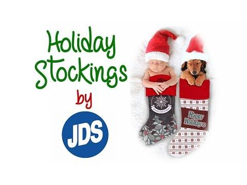 How To Sublimate JDS Holiday Stockings