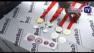 How to sublimate personalized medals from BestSub