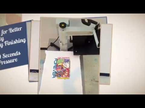 T-Shirt Transfer In 60 Seconds With OKI C831-TS And Forever Laser Transparent