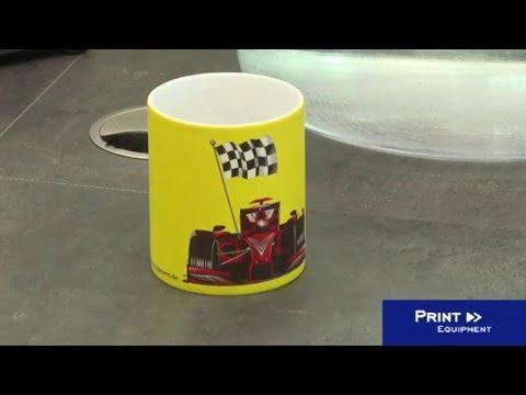 Print On Solids (here: Coloured Mugs) With Forever Transfer Paper