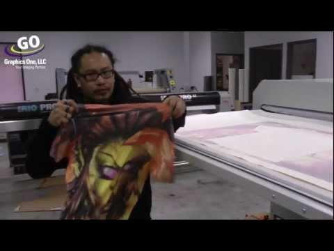 Dye Sub Transfer Using GO Metalnox 12000AV PRO Heat Press