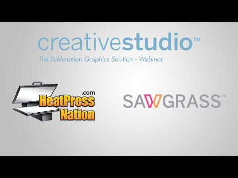 Sawgrass CreativeStudio Webinar - HeatPressNation