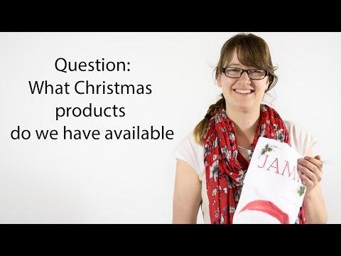 Question: What Christmas Products Do We Have Available?