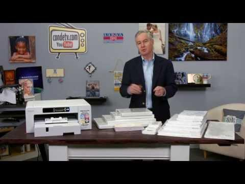 Sawgrass Dye Sublimation Virtuoso SG800 Printer Evaluation Video #3 Of 4 -