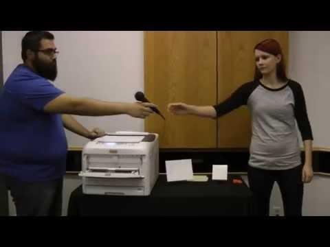 OKI C831-TS LED Printer--Metal Sheet And Ceramic Tile Heat Transfers