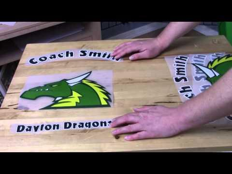 How To Print On Nylon | Printing On A Nylon Jacket