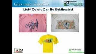 Joto Webinar - Breaking the Rules of Sublimation