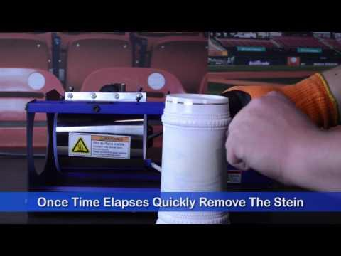 How To Press: Using The Mug Master Pro To Press Ceramic Steins