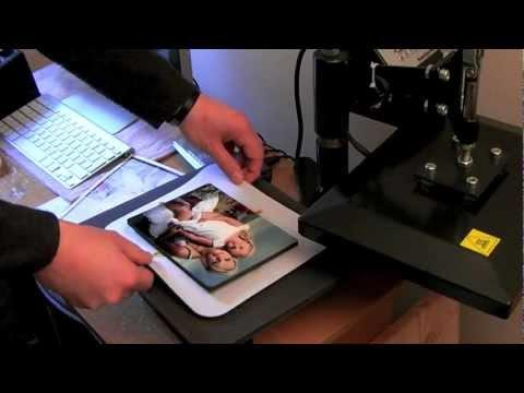 Sublimation ChromaLuxe Panel Printing Training Video