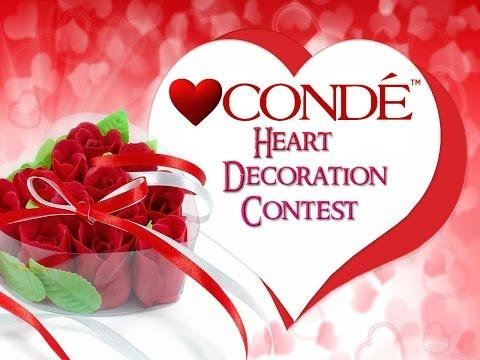 The Conde Heart Decor Sublimation Contest Entries
