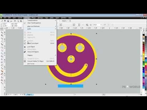 Knockout Space Using Corel Draw