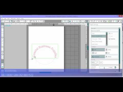 Silhouette Studio: How To Curve Text