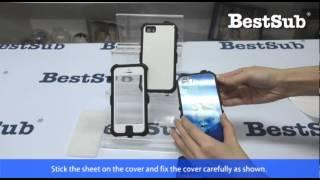 How to sublimate waterproof iPhone covers bestsub