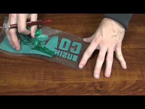 Coastal Tech Support Tips: Weeding The Siser GlitterFlake Vinyl