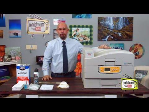 Oki White Toner Printers - C920WT - Maintenance -