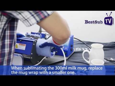How To Sublimate Milk Mugs