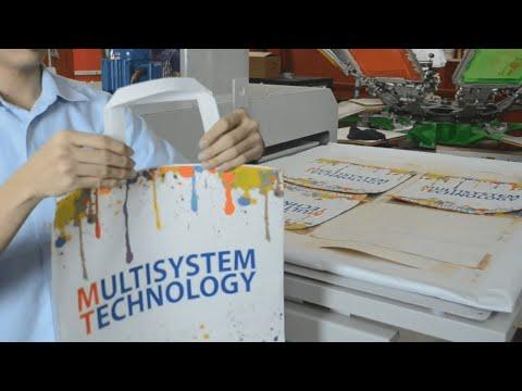 Heat Transfer Full Printing Tote Bag / Non Woven Bags By Sublimation