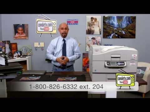 Oki White Toner Printers - C920wt - Forever Low Temp LaserDark Callibration Test -