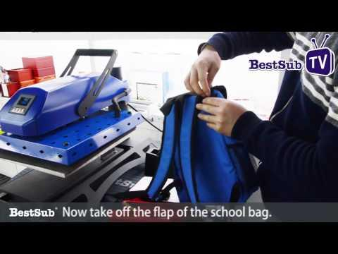 How To Sublimate Kids School Bags