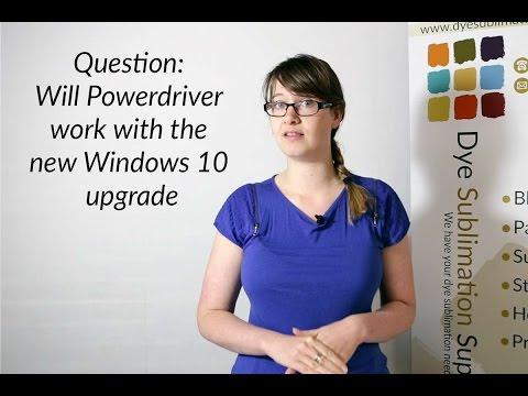 Question: Will PowerDriver Work With Windows 10?