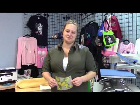 How To Make A Custom Tote Bag With OKI Pro920WT White Toner Printer And Digital Heat FX