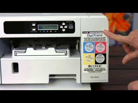 Sawgrass Virtuoso SG400 Dye Sublimation Printer Evaluation Video - #2 Of 4 -